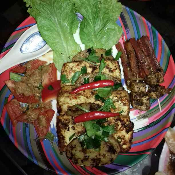 Photo of Cheezy Grilled Paneer with Sounte Vegetable by Tumpa Roy at BetterButter