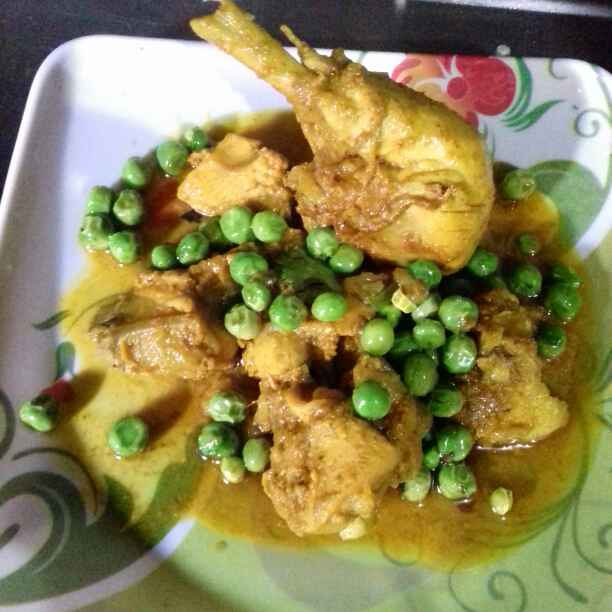 Photo of Chicken with Peas by Tumpa Roy at BetterButter