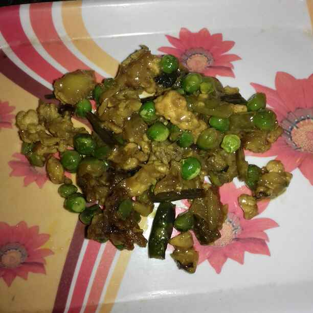 Photo of Peas keema Sobji by Tumpa Roy at BetterButter