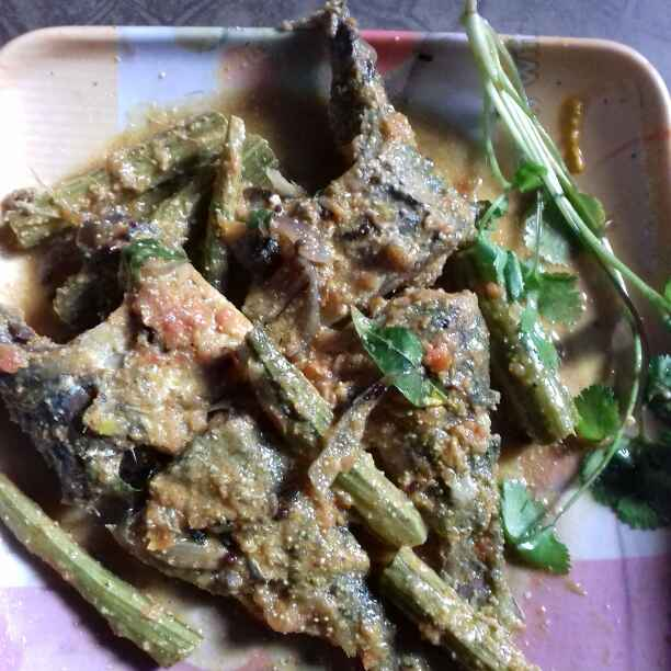 Photo of Sojnedanta diye Khoyra machher Jhaal by Tumpa Roy at BetterButter