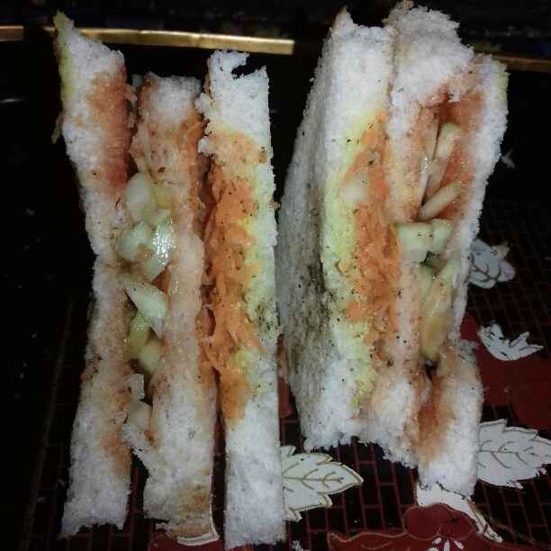 Photo of Veg Club Sandwich by Tumpa Roy at BetterButter
