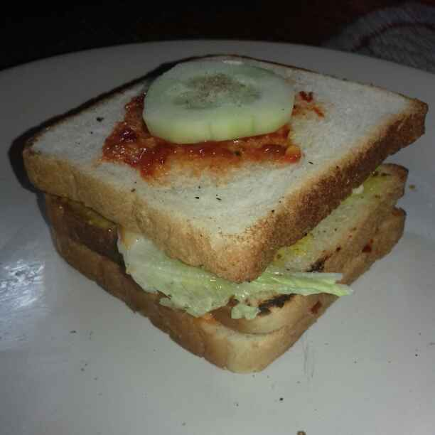 Photo of Three layer Sandwich by Tumpa Roy at BetterButter