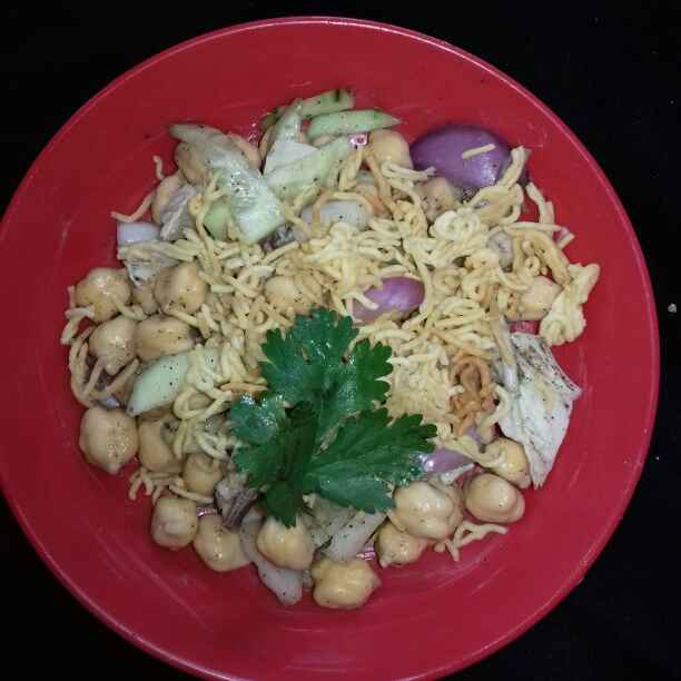 Photo of Chickpea Chaat by Tumpa Roy at BetterButter