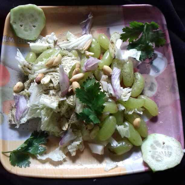 Photo of Lettuce & Grapes Salad by Tumpa Roy at BetterButter