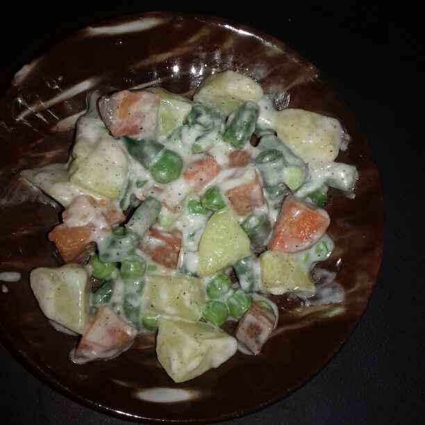 Photo of Russian Salad by Tumpa Roy at BetterButter