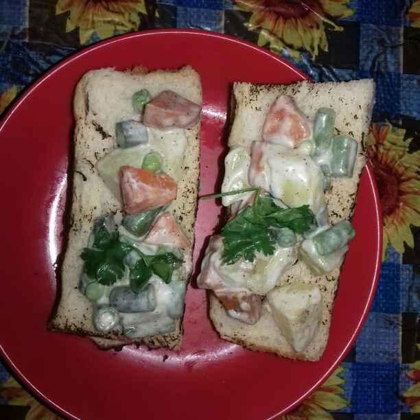 Photo of Doi Sobjir Sandwich by Tumpa Roy at BetterButter
