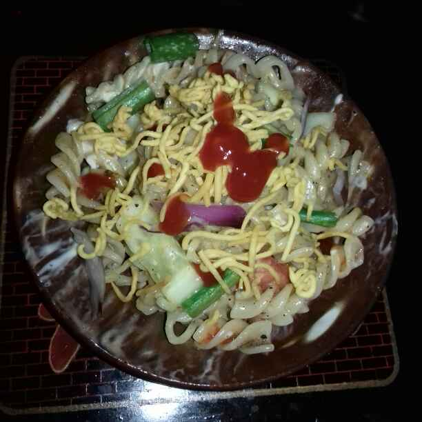 Photo of Noodles O Pasta Chaat by Tumpa Roy at BetterButter