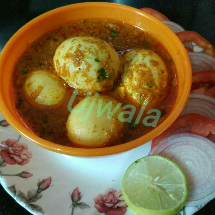 How to make अंडा करी
