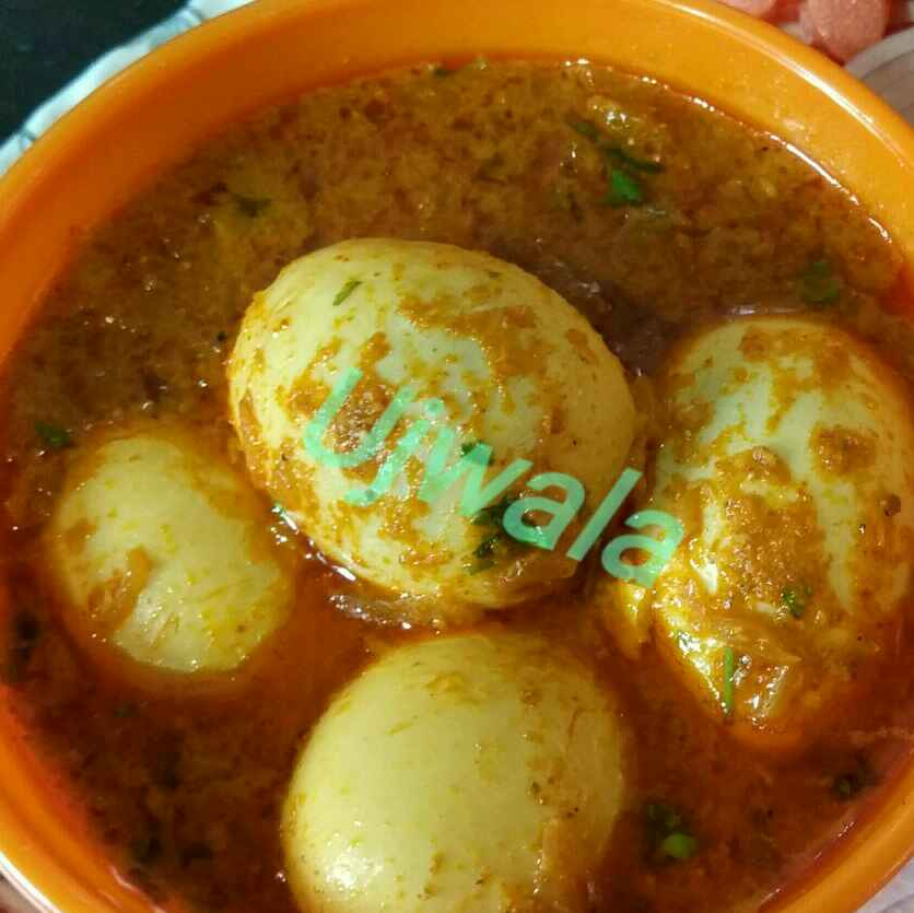 How to make Eggs curry