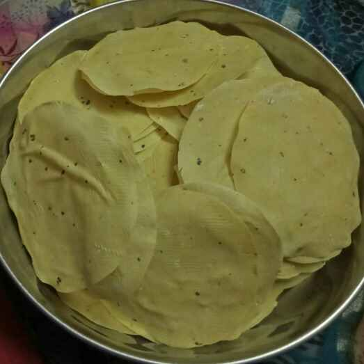 Photo of Udid papad by Ujwala Surwade at BetterButter