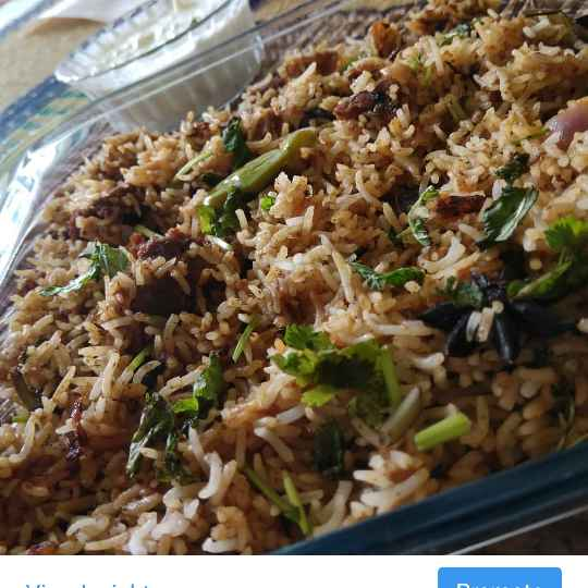 Photo of Horse gram biryani by Umamaheswari Chellamuthu at BetterButter