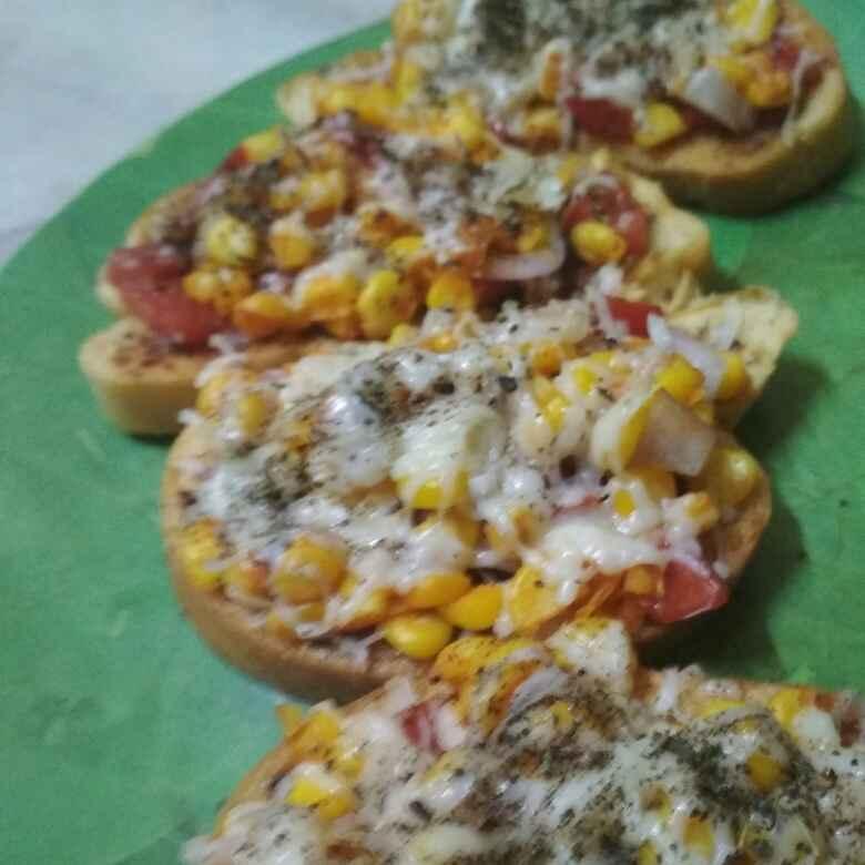 Photo of Corn chessy garlic bread by Uma Malpani at BetterButter