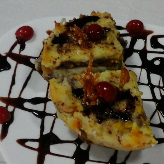 Photo of CHOCOLATE  LASAGNE  STUFFED WITH   PAYASAM  AND  BOONDI by uma Pandit at BetterButter