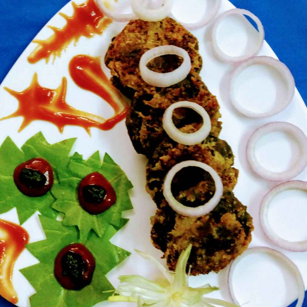 How to make Spinach Kebabs