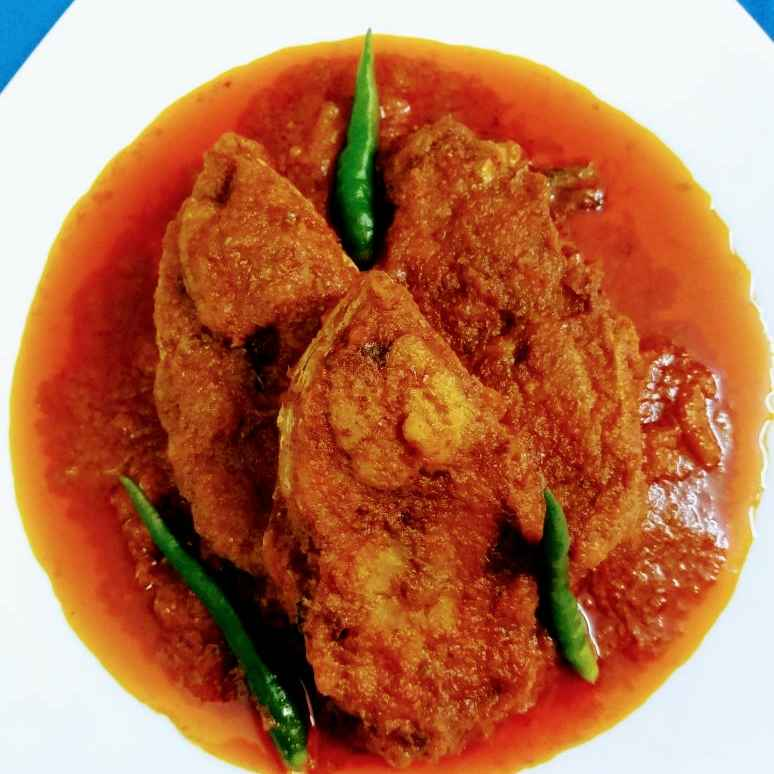 How to make ILISH KORMA
