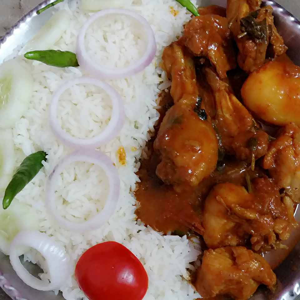 Photo of Sunday Chicken Curry by uma Pandit at BetterButter