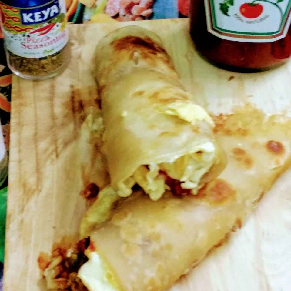 Photo of LEFTOVER Veggie egg roll recipe by UMA PANDIT at BetterButter