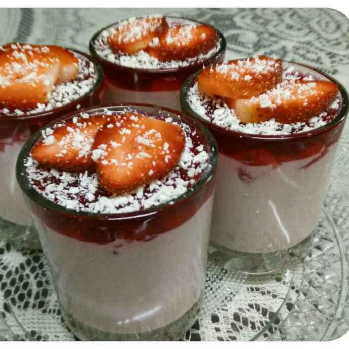 Photo of Strawberry Mousse Parfait by Uma Sarkar at BetterButter