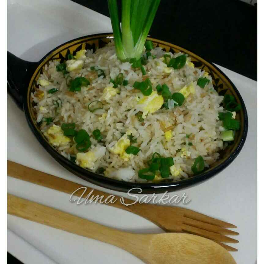 Photo of Chinese Eggs Fried Rice by Uma Sarkar at BetterButter