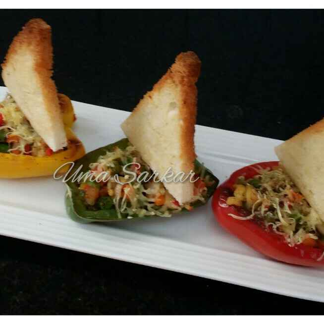 How to make Bell Pepper Boats