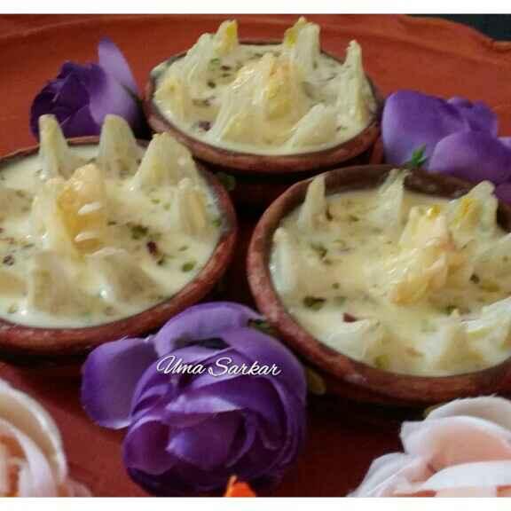 How to make Onion Lotus Kheer