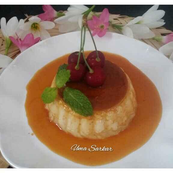 How to make Orange Caramel Pudding