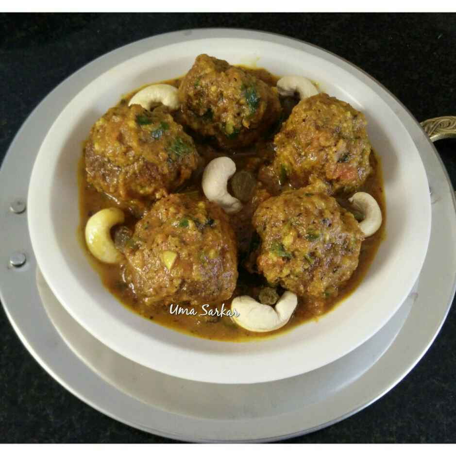 How to make Sweet potato kofta curry