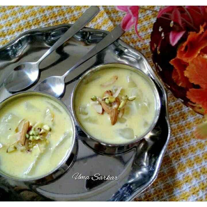 How to make Ice-apple rabdi..