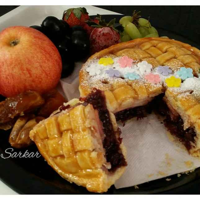 Photo of Mix fruits pie by Uma Sarkar at BetterButter