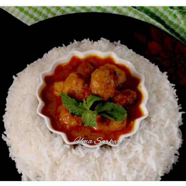 How to make Malai Prawn kofta curry