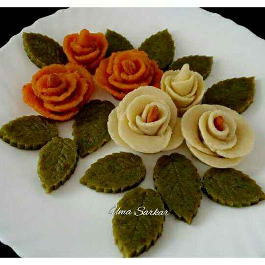 Photo of Halwa flowers by Uma Sarkar at BetterButter