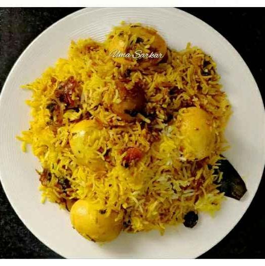 Photo of Egg biryani by Uma Sarkar at BetterButter