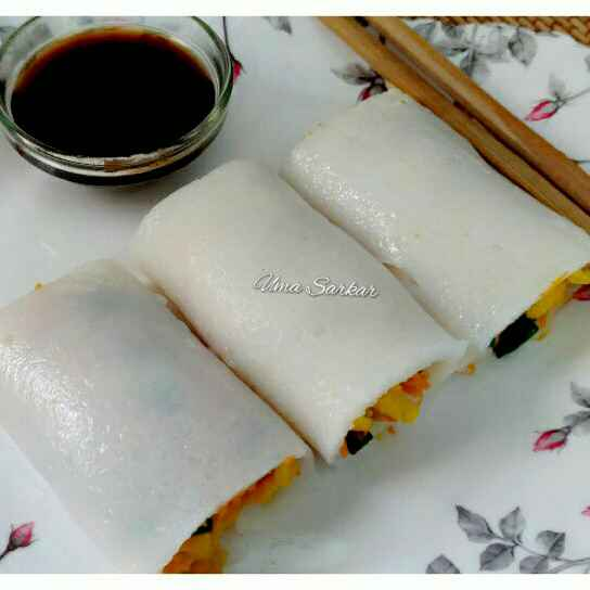 How to make Leftover rice roll