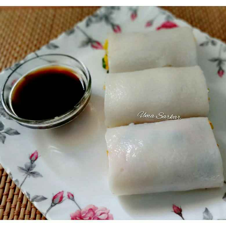 Photo of Leftover rice roll by Uma Sarkar at BetterButter