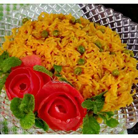 Photo of Tomato peas pulao by Uma Sarkar at BetterButter