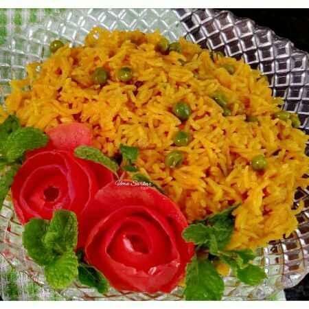 Photo of Tomato peas pulao by Uma Sarkar at BetterButter