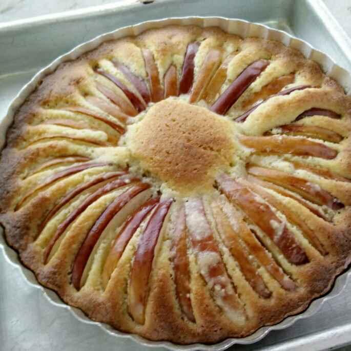 Photo of Apple Almond Tart by Uma Sarkar at BetterButter