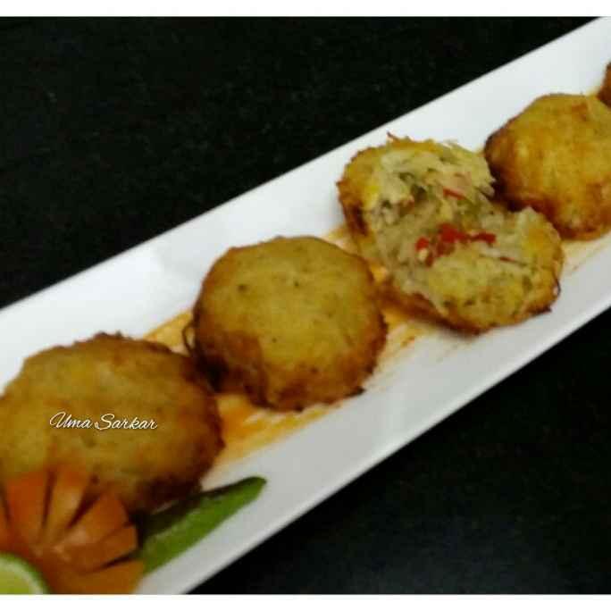 Photo of Cheese stuffed baked potato by Uma Sarkar at BetterButter