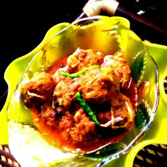 Photo of Kofta curry with bhetki fish by Umasri Bhattacharjee at BetterButter