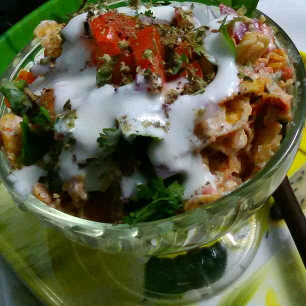 Photo of Mixed dahi chat by Umasri Bhattacharjee at BetterButter