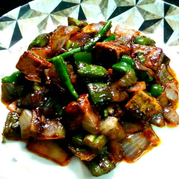 Photo of Chilli paneer by Umasri Bhattacharjee at BetterButter