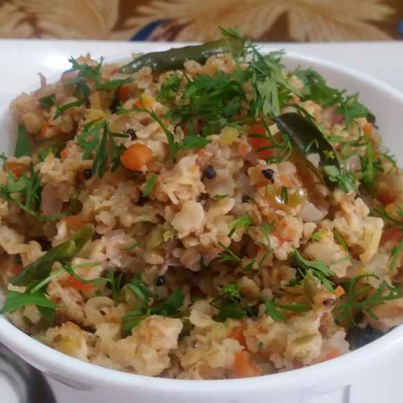 Photo of Vegetable Oats Upma by Upadhyay Kanika at BetterButter