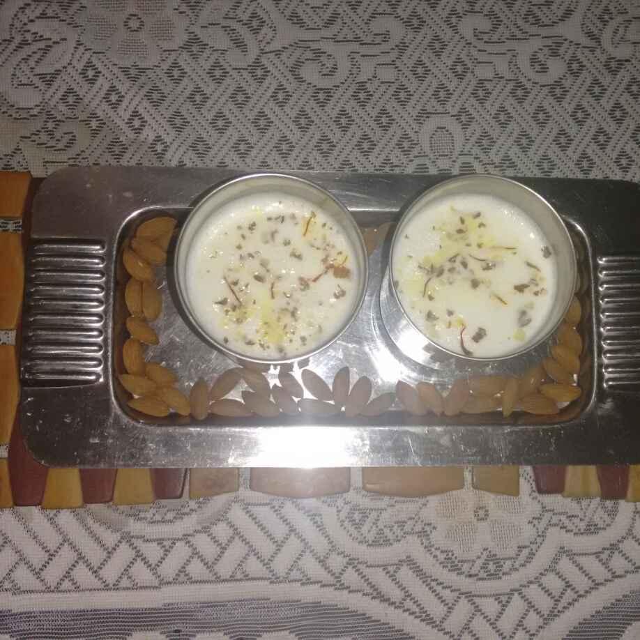 Photo of Kesar badam milk (milk) by Urmila Agarwal at BetterButter