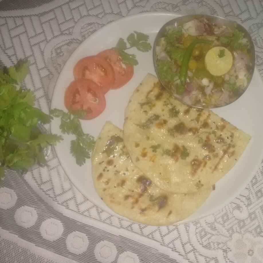 How to make Matar kulcha