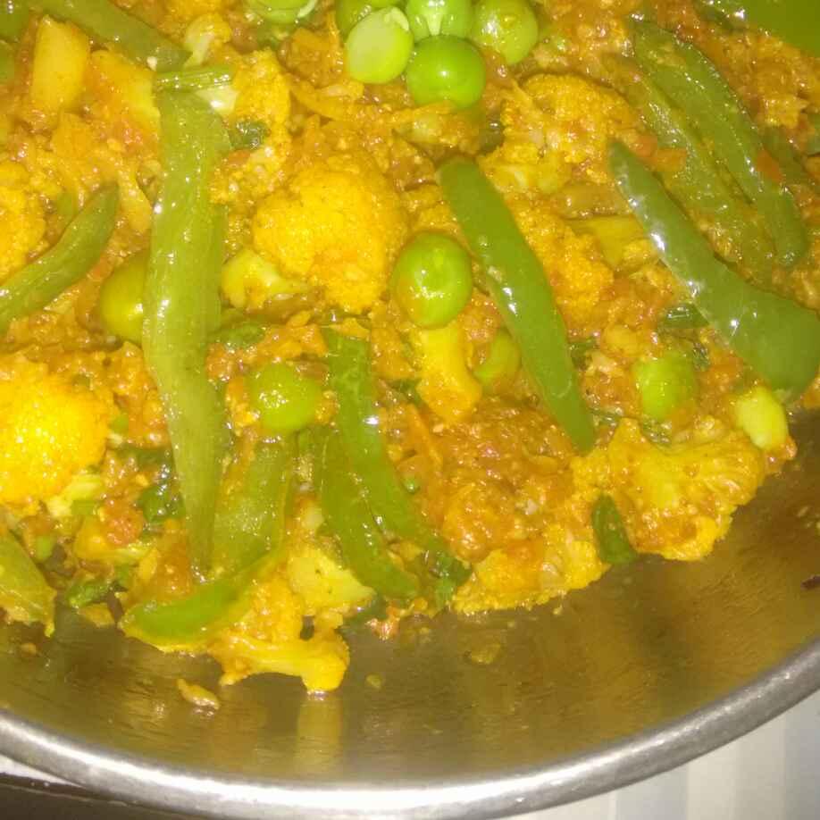 How to make Gobhi takatak