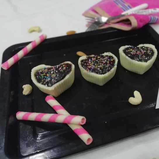 Photo of Paneer choco tarts by Urvashi Belani at BetterButter