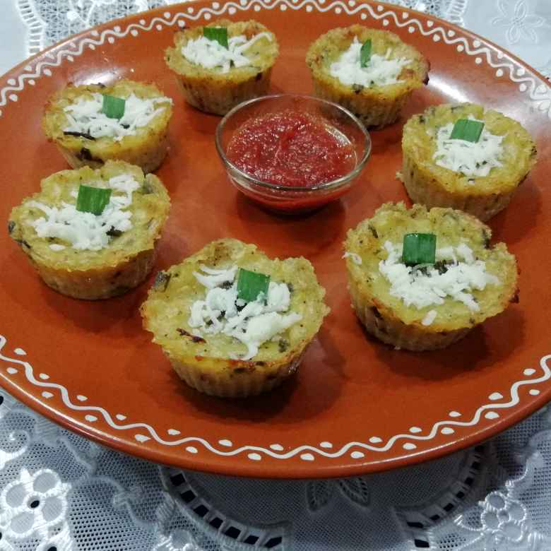 Photo of Cheesy muffins by Urvashi Belani at BetterButter