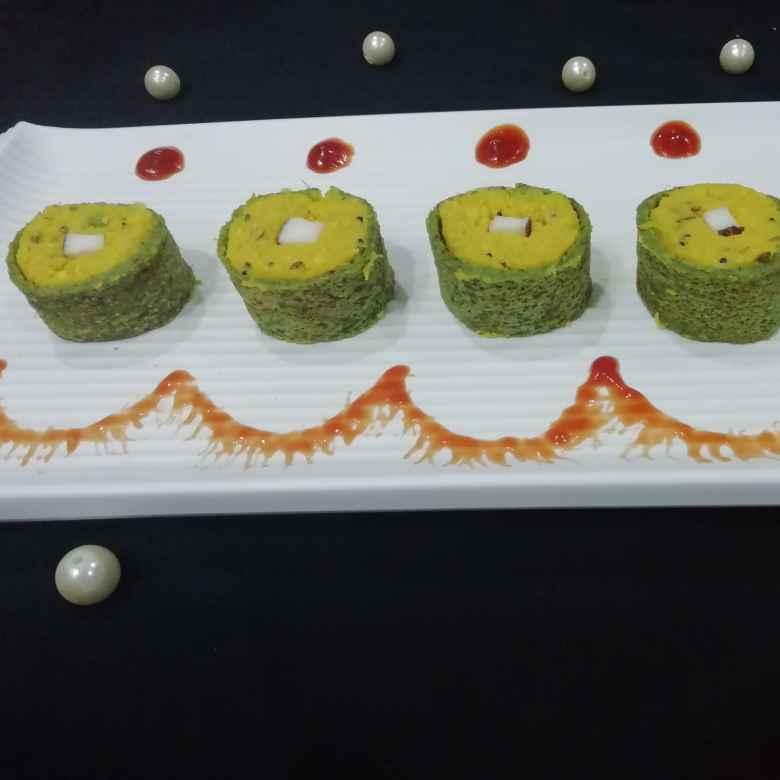 Photo of Corn shushi roll by Urvashi Belani at BetterButter