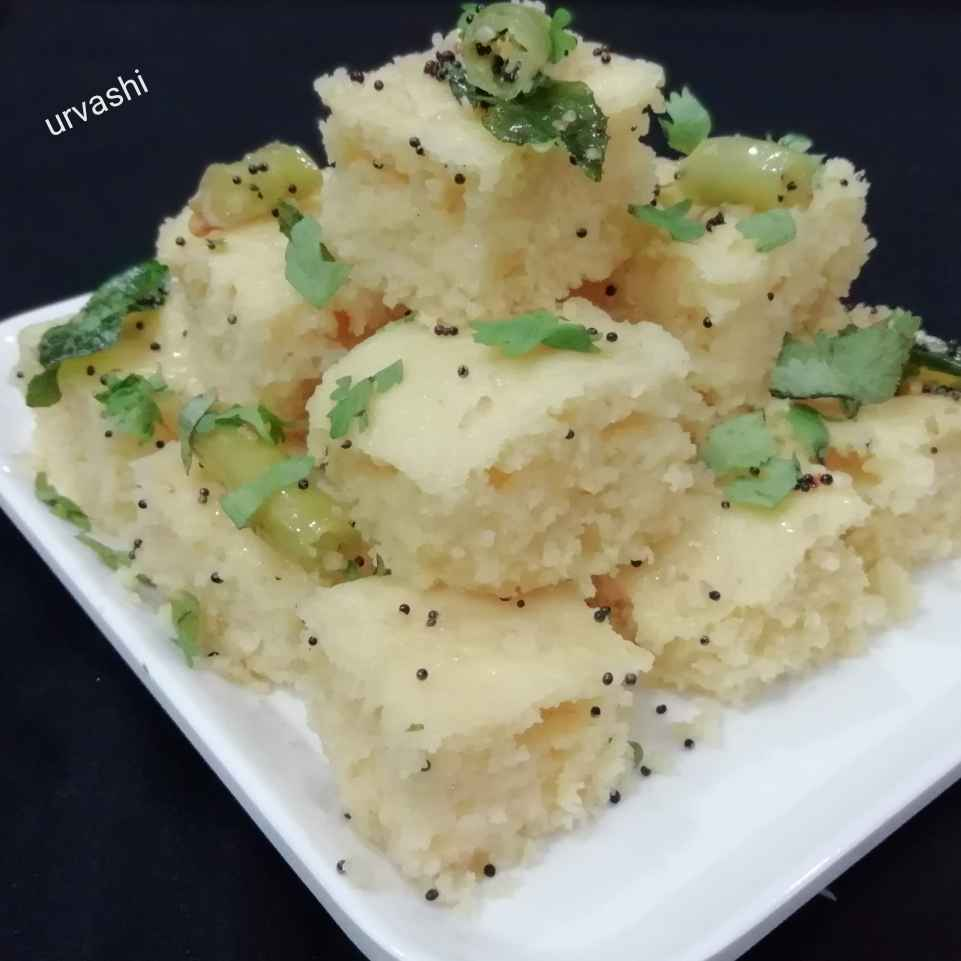 Photo of Instant dhokla by Urvashi Belani at BetterButter
