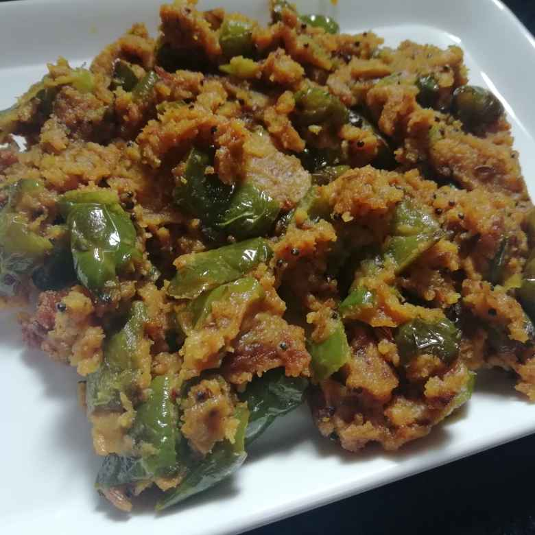 Photo of Capsicum with gram flour by Urvashi Belani at BetterButter